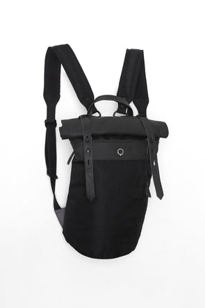 Stighlorgan - Rori Mid Rolltop Laptop Backpack - Black