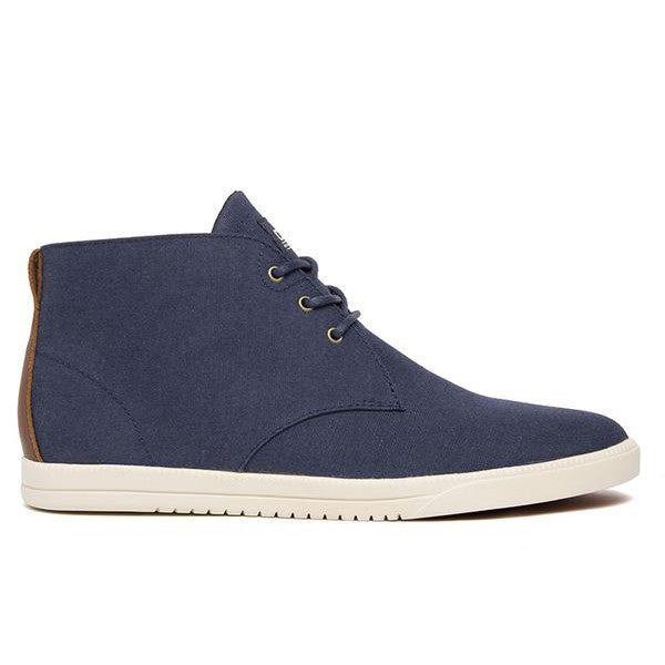 Clae - Strayhorn Textile Shoes - Deep Navy Nylon Canvas