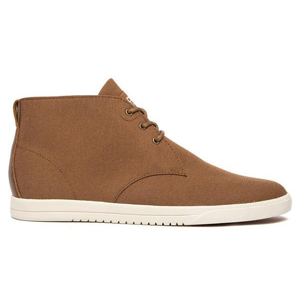 Clae - Strayhorn Textile Shoes - Grizzly Nylon Canvas