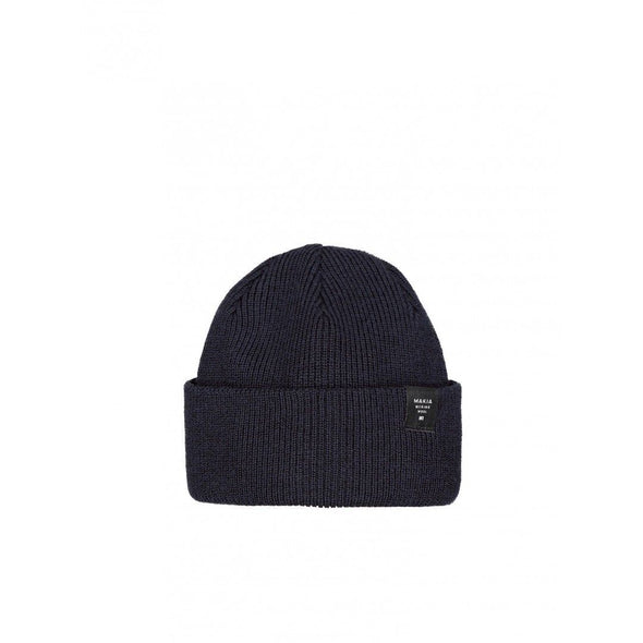 Makia - Navy Merino Thin Cap