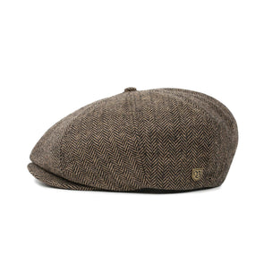 Brixton - Brood Snap Cap - Brown/Khaki