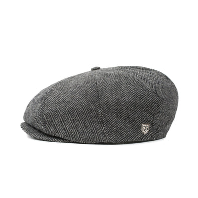 Brixton - Brood Snap Cap - Grey / Black