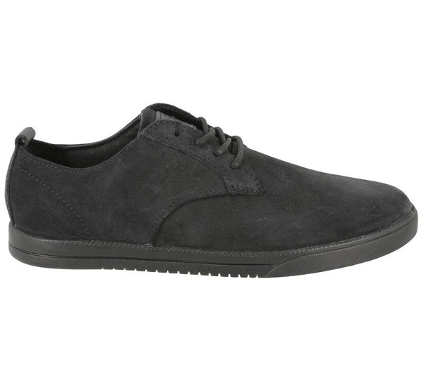 Clae - Ellington - Black Waxed Suede