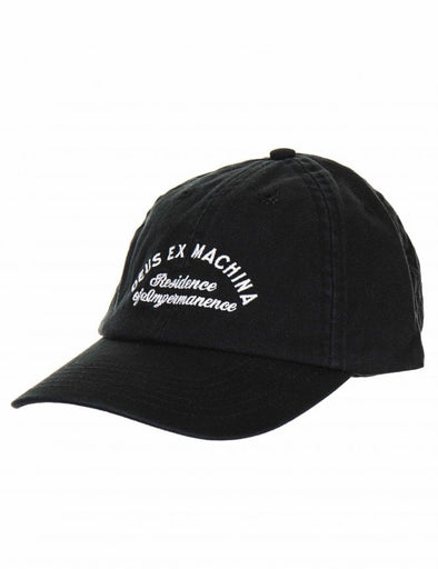Deus - Classic Dad Temple Cap - Black