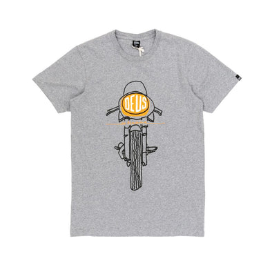Deus Ex Machina - Frontal Matches Tee - Grey