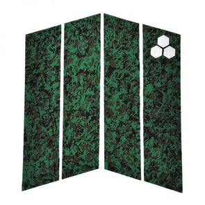 Channel Islands 4 Piece Front Foot Deck Pad (Camo)