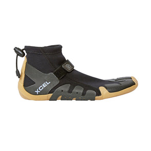 Xcel - Infiniti 1mm Split Toe Reef Boot - Black/Gum
