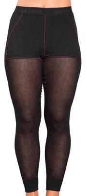 Brynje Wool Thermo Light Womens Longs Black
