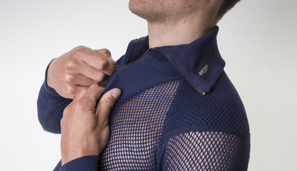 Brynje Super Thermo Zip Polo with Inlay