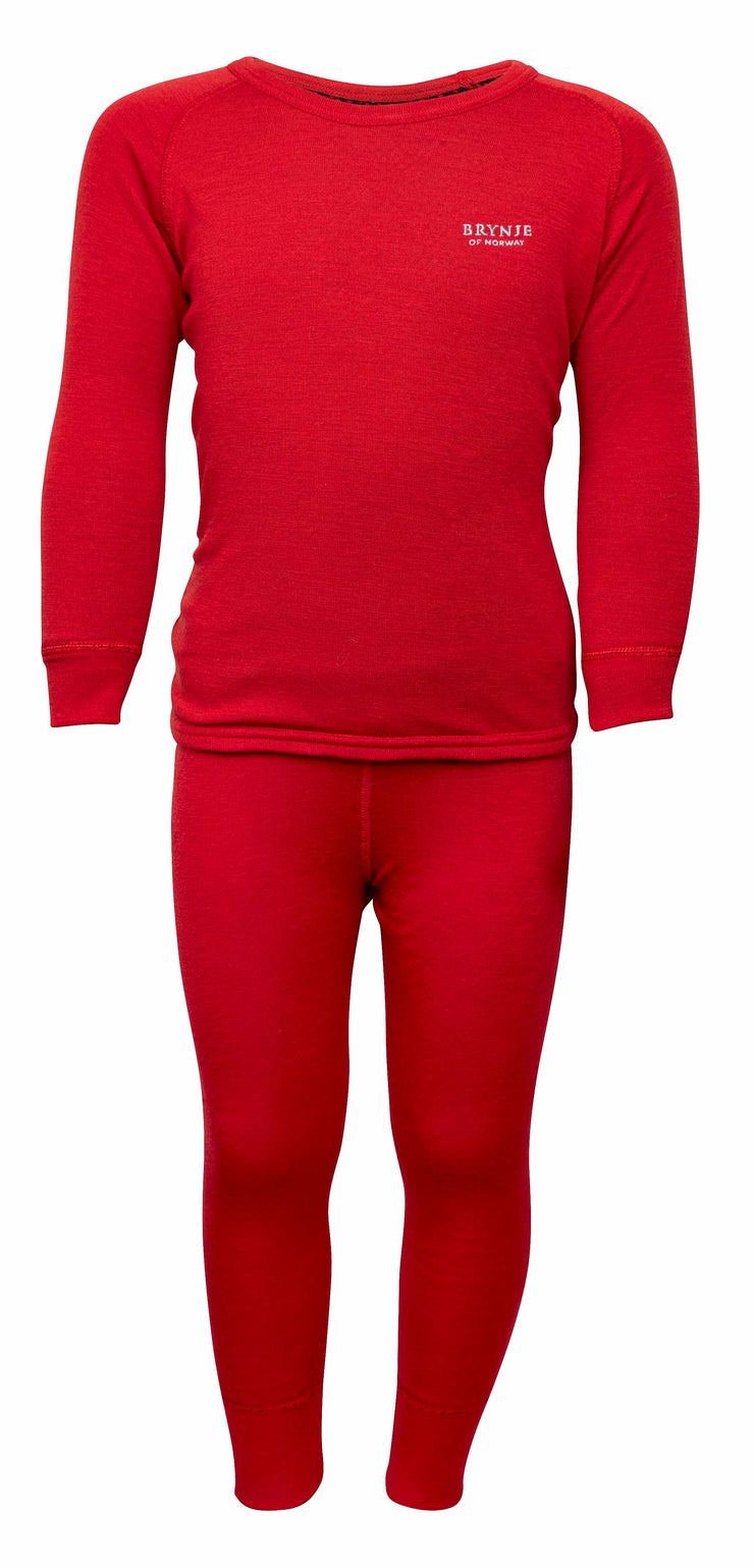Brynje Arctic Kids Base Layer Top And Longs