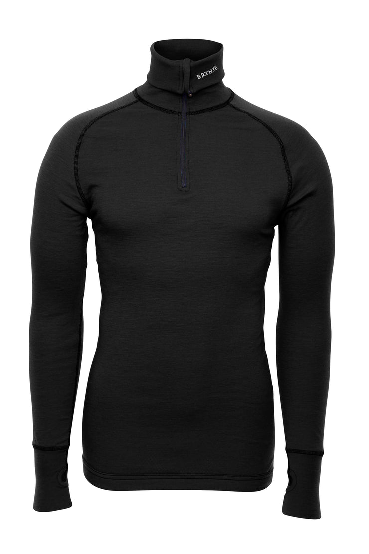 Brynje Arctic Zip Polo Black