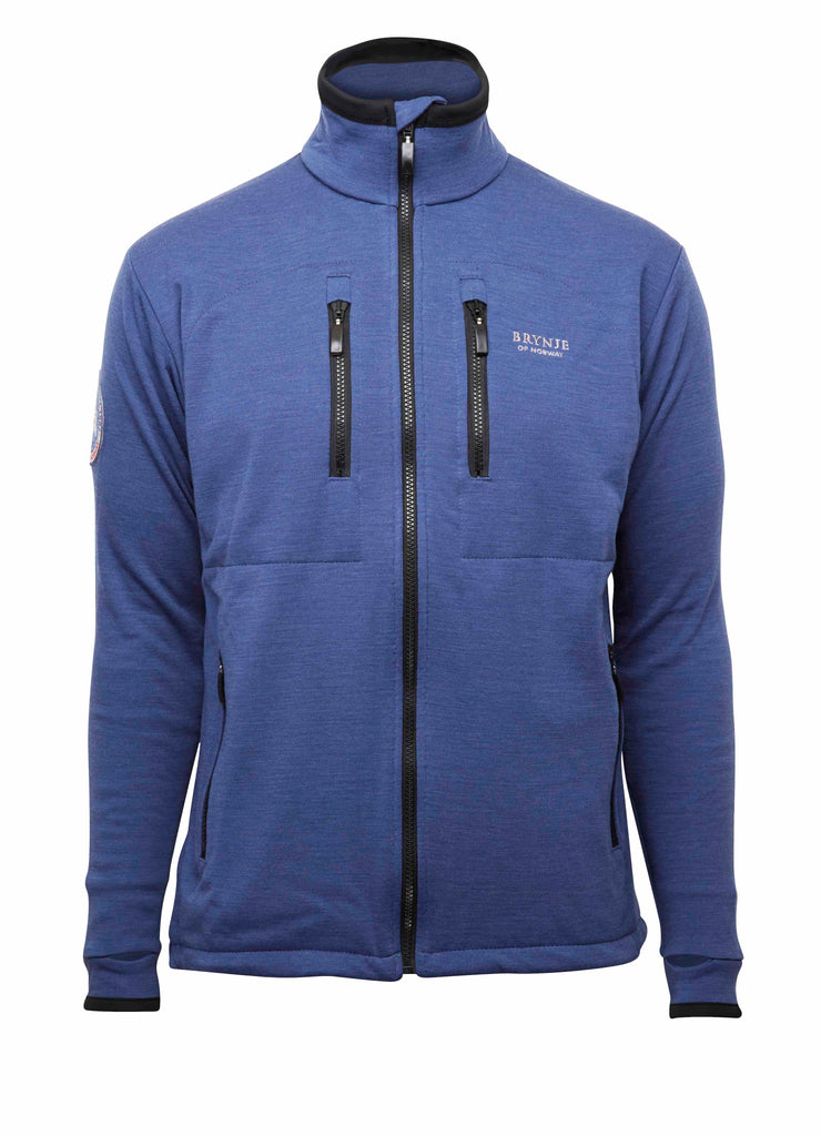 Brynje Antarctic Merino Jacket Blue