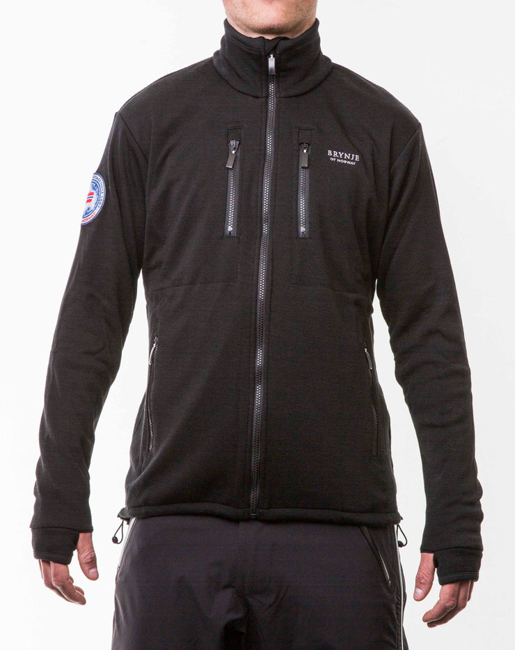 Brynje Antarctic Merino Jacket Black