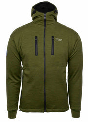 Brynje Antarctic Merino Jacket W/S Green