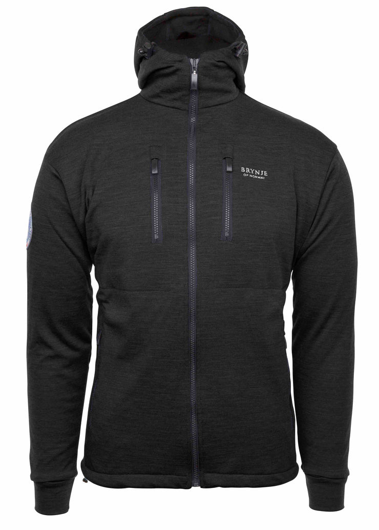 Brynje Antarctic Merino Jacket W/S Black