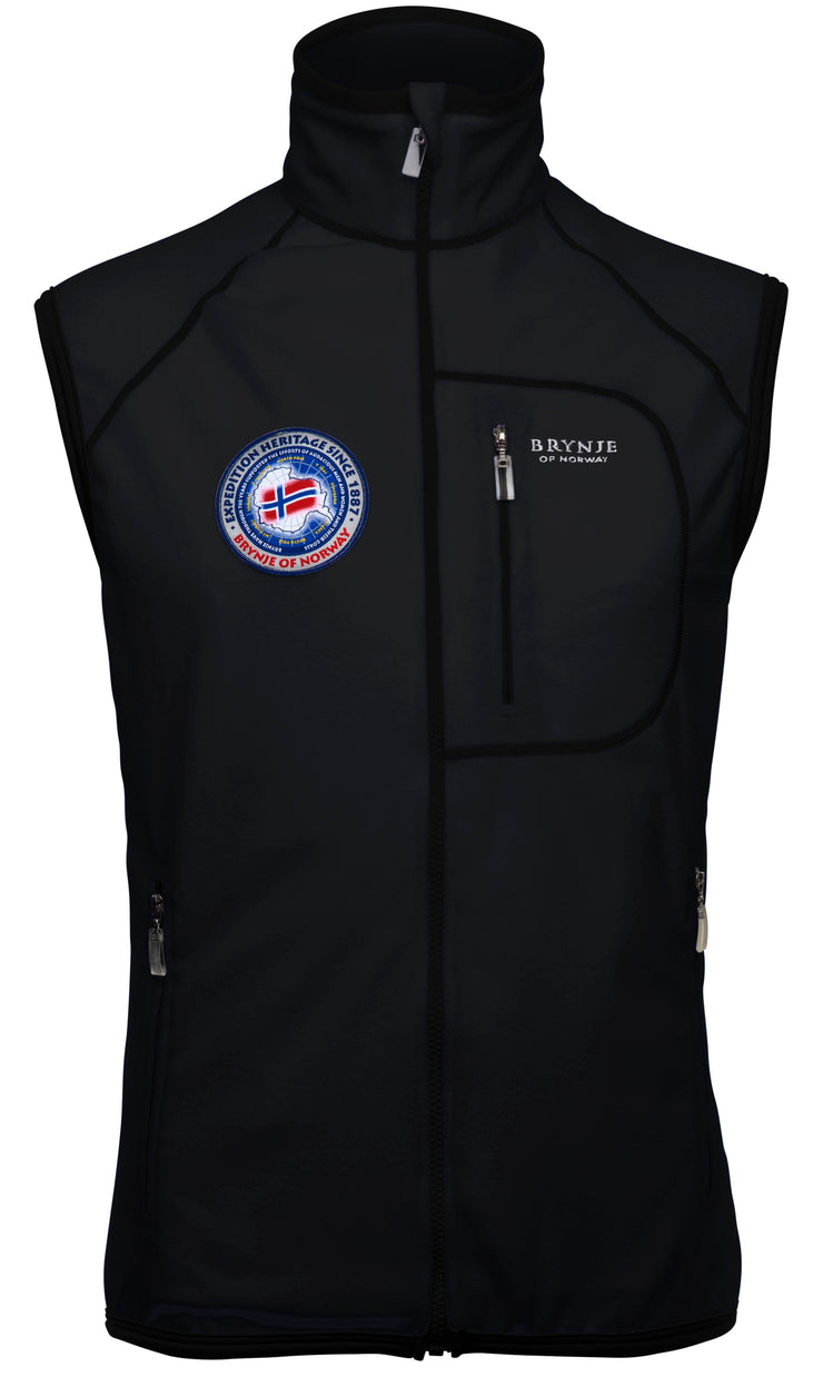 Brynje Fleece Vest With Windstopper