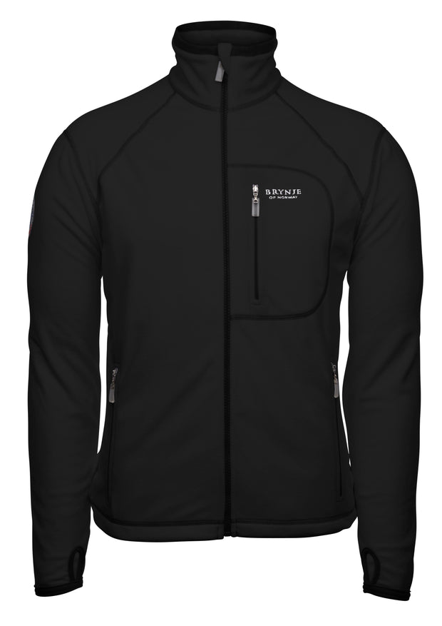 Brynje Fleece Jacket With Windstopper