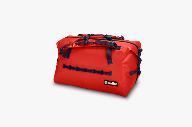 Halite Kraken Waterproof Duffel Bag Red