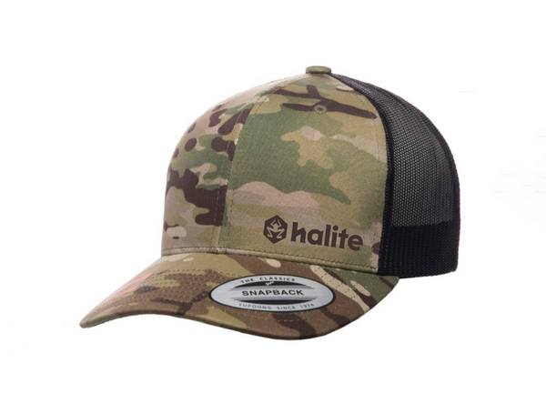 Halite Trucker Hat in Multicam