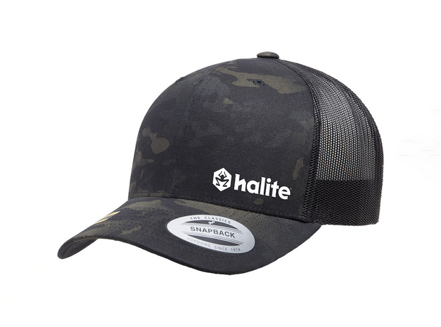 Halite Trucker Hat in Multicam Black