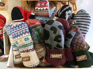 Hand-crafted Farmery Mittens