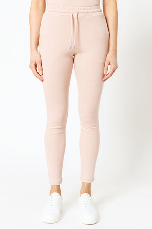 Load image into Gallery viewer, Women's Pink Signature Logo Slim Fit Joggers - P r é v u . S t u d i o .