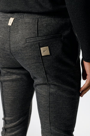 Load image into Gallery viewer, Grey Kingsdale Slim Fit Joggers - P r é v u . S t u d i o .