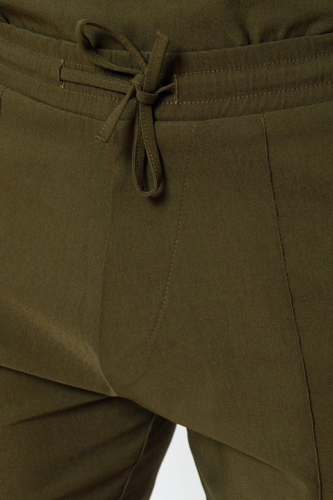 Load image into Gallery viewer, Khaki Salvatore Shorts - P r é v u . S t u d i o .