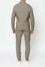 Grey Salvatore Regular Fit Cargo - Prévu Studio