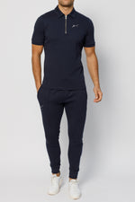 Dark Navy Signature Logo Slim Fit Jogger
