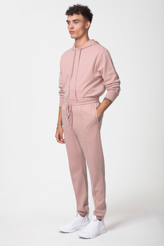 Core Combed Cotton Joggers Blush