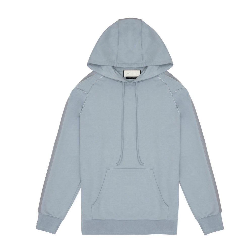Tech Jersey O/H Hoodie Dusty Blue