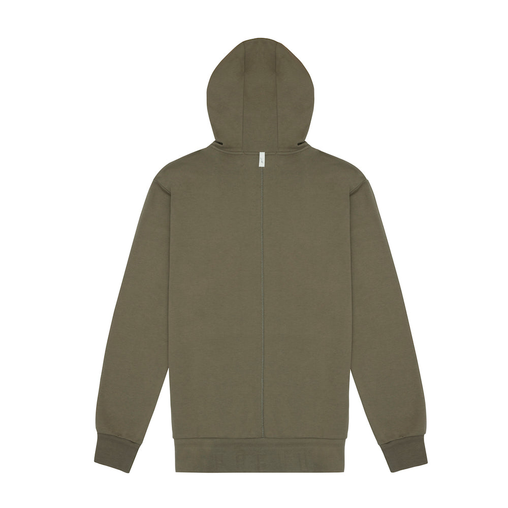 Core Combed Cotton Hoodie Olive