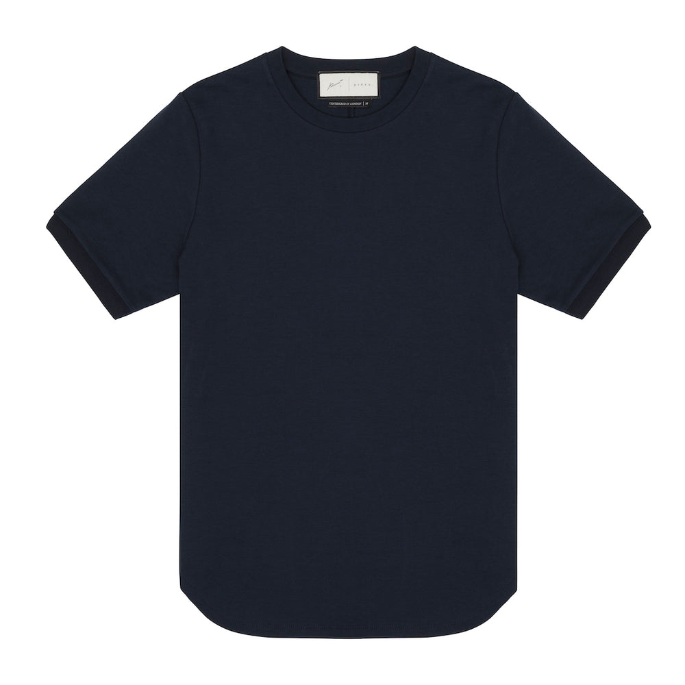Core Combed Cotton T-Shirt Dark Navy
