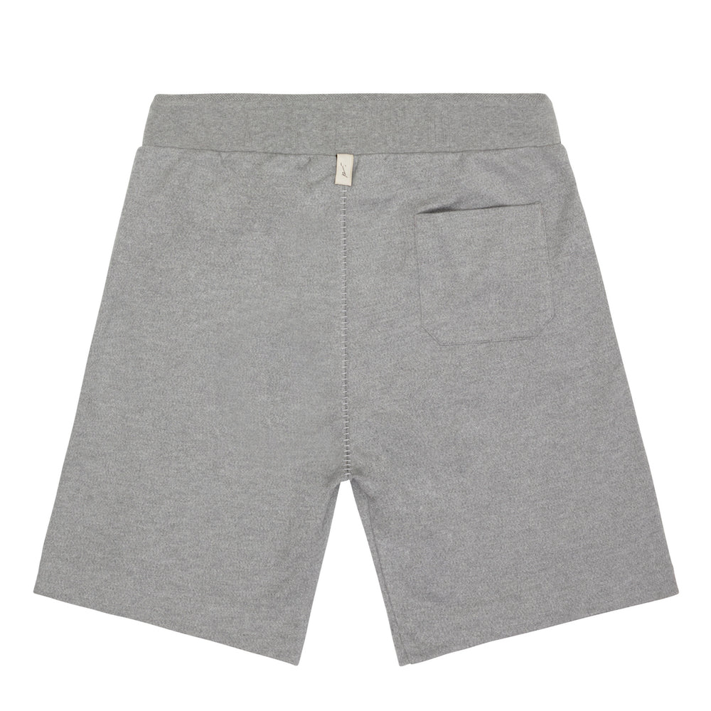 Tech Jersey Box Short Grey Marl