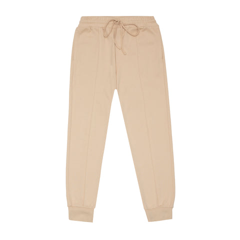 CORE COMBED COTTON JOGGERS LATTE
