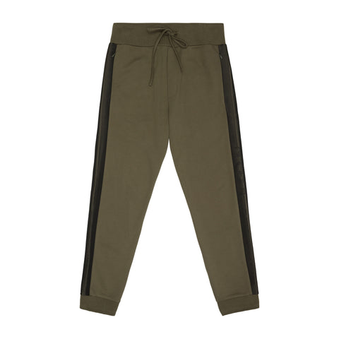 OLIVE TECH JERSEY BOXER JOGGER
