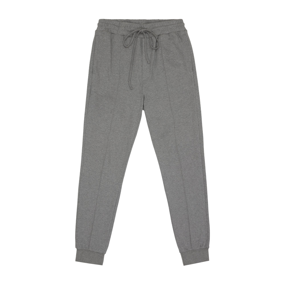 Core Combed Cotton Joggers Grey Marl