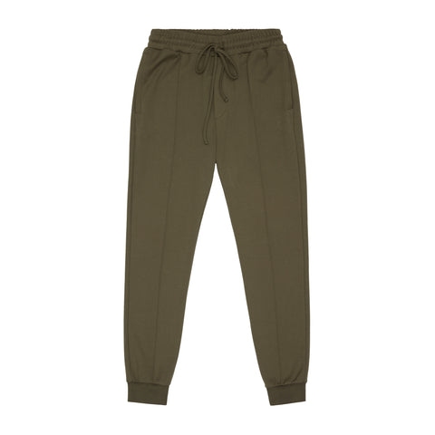 CORE COMBED COTTON JOGGERS OLIVE