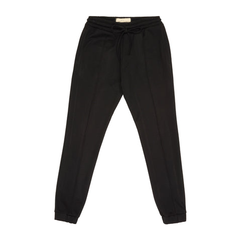 CORE COMBED COTTON JOGGERS BLACK