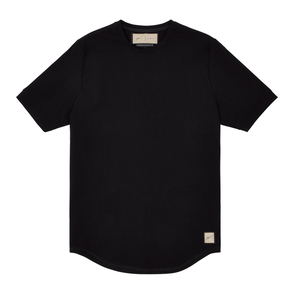 Prévu Classic Slim Fit T-Shirt Black