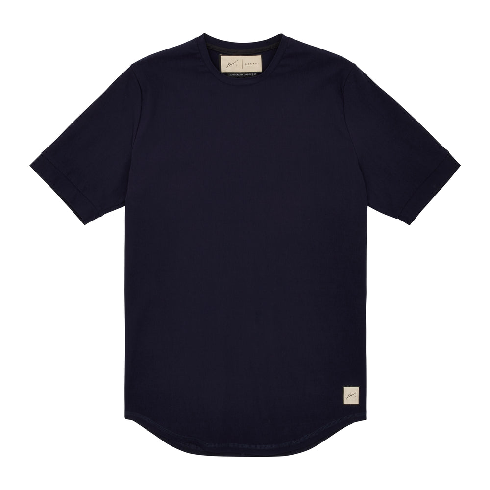 Prévu Classic Slim Fit T-Shirt Navy