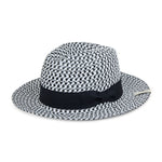 Prévu Knitted Fedora Black & White