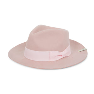 Load image into Gallery viewer, Pink Fedora Hat - P r é v u . S t u d i o .