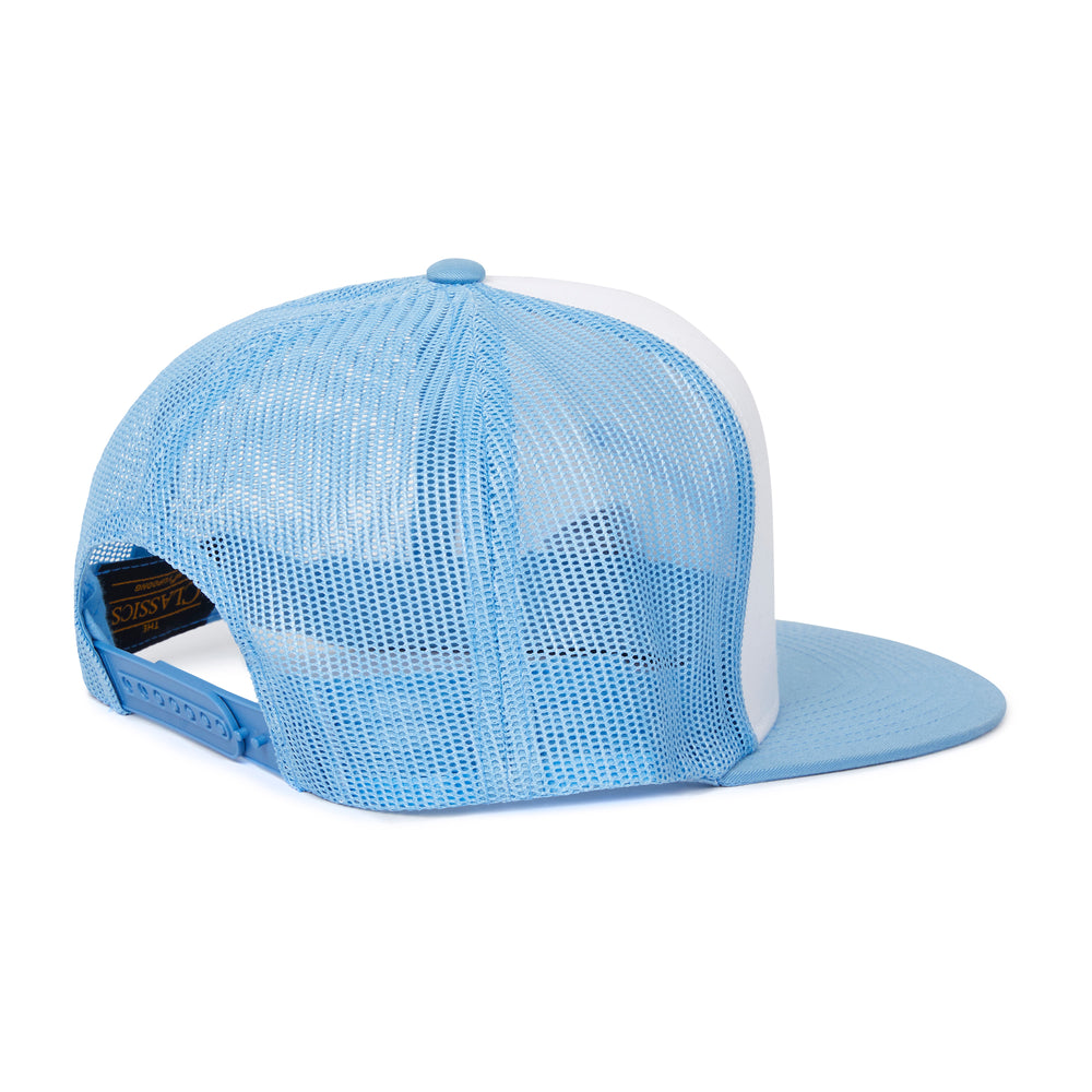 Signature P' Embroidered Mesh Back Cap Powder Blue