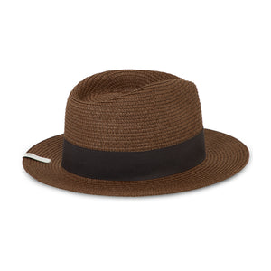 Prévu Knitted Fedora Earth & Black