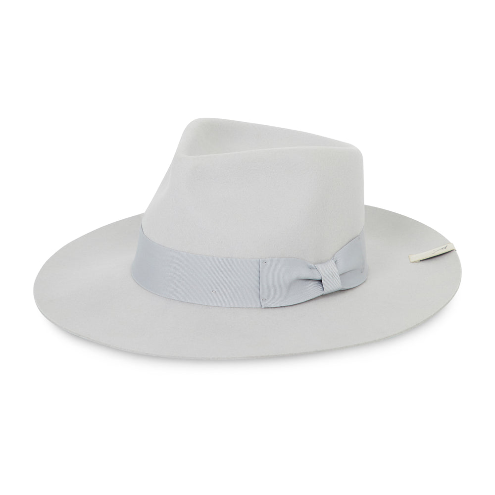 Light Grey Fedora Hat - P r é v u . S t u d i o .