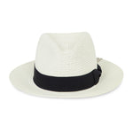 Prévu Knitted Fedora Cream & Black