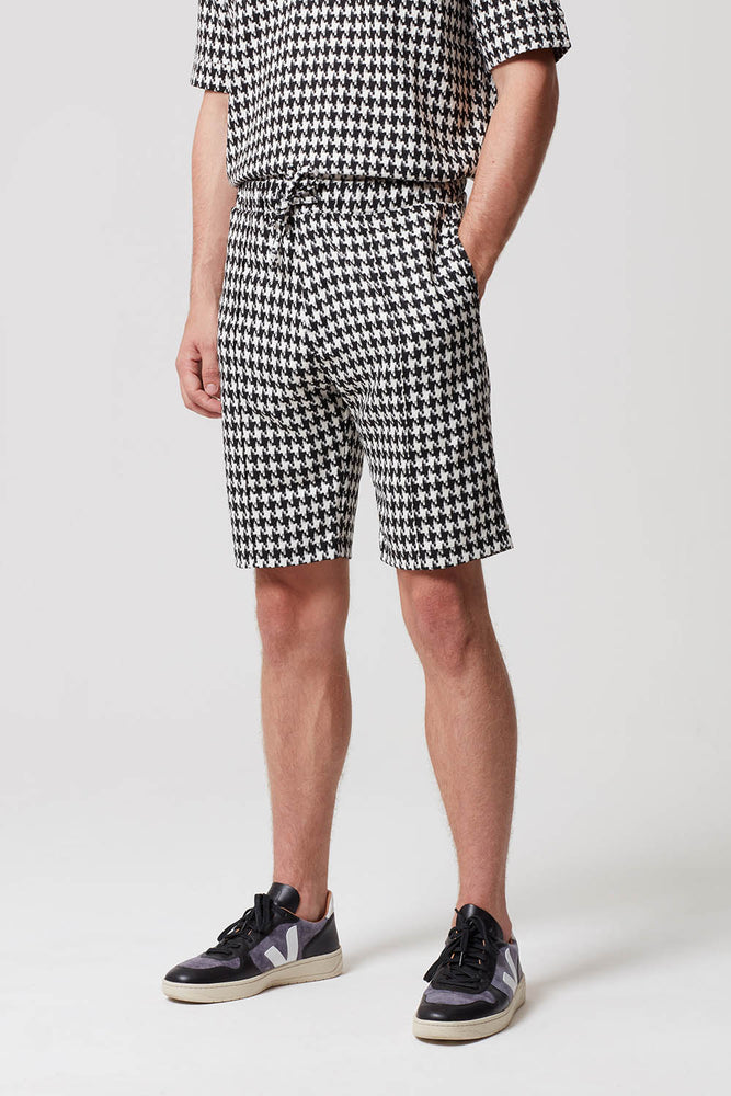 Prévu Dogtooth Check Short