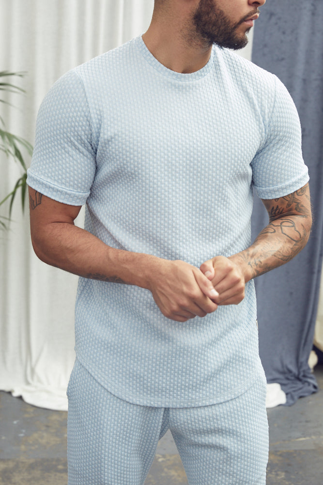 Light Blue Artisan Slim Fit T-Shirt